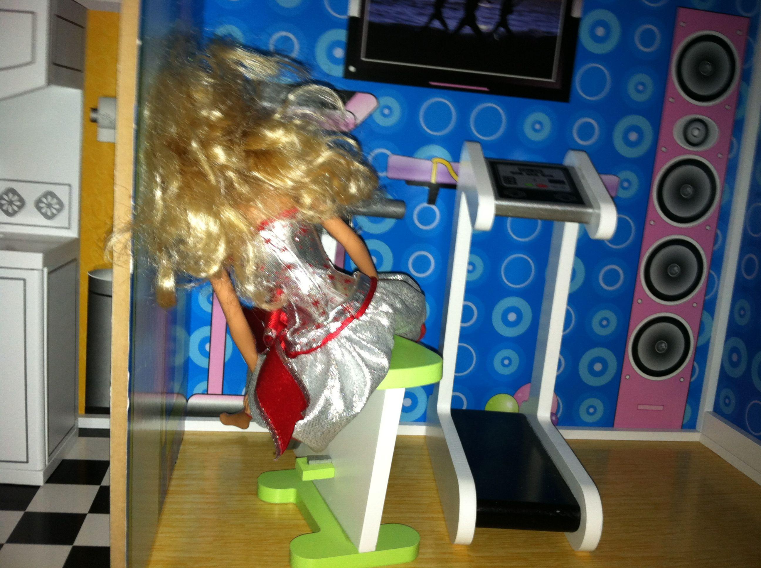 barbie treadmill
